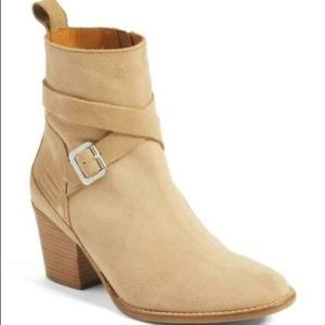 Hunter Refined Water Resistant Suede Strap Boot 9